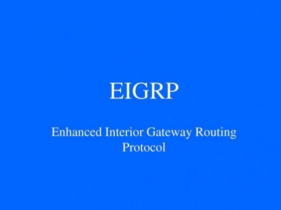 خلاصه ای از مهمترین مطالب EIGRP